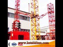 Sc200/200 3*2*11kw Best Selling Building Construction Hoist