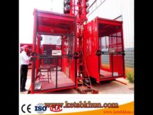 Sc200/200 3*2*11kw Building Hoist Machinery