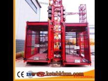 Sc200/200 3*2*11kw Construction Elevator Hoist Lifter