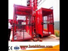 Sc200/200 3*2*11kw Construction Passenger Elevator