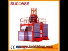 Sc200/200 3*2*11kw Electric Block Building Hoist