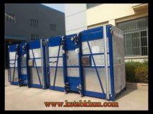Sc200/200 3*2*11kw Elevation Platforms For Construction