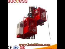 Sc200/200 3*2*11kw Popular Building Construction Hoist