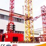 Sc200/200 3*2*11kw Vertical Construction Hoist