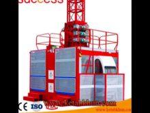 Sc200/200 Building Material Hoist ,Construction Elevator