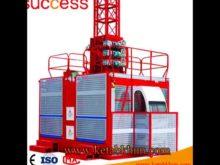 Sc200/200 Building Material Hoist