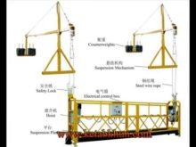 Sc200/200 C Model Building Construction Hoist For People Deliver