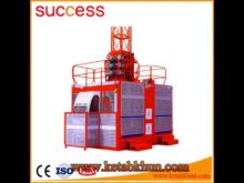 Sc200/200 Construction Building Hoist Equipment Industrial Elevator From China Factory