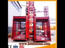Sc200/200 Construction Hoist Construction Elevator