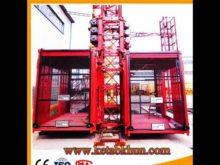 Sc200/200 Construction Hoist Double Cage
