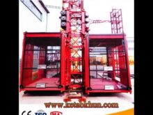 Sc200/200 Customer Made Suspended Elevator Construction Hoist