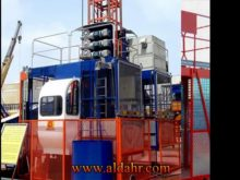 SC320/320TD Construction Elevator at Lifting Speed 36m/min