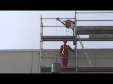 SCAFFOLDING HOIST  –  MINICRANE  300 kg