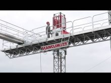 Scanclimber All Reach Extension (ARE) – a versatile expansion for mast climbing work platforms