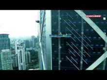 Scanclimber Multiplatform System on the 275 meters high IB Tower in Kuala Lumpur, Malaysia