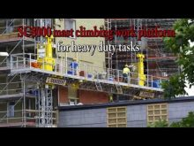 Scanclimber SC8000 mast climbing work platform for heavy duty tasks