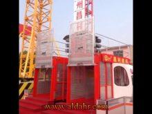 Scd200/200g Electric Vertical Transportation Building Elevator/Hoist
