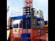 SGS Approved Construction Hoist with Single or Double Cage
