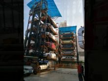 Shandong Jiuroad Parking Vertical Rotary Parking System Installation Site