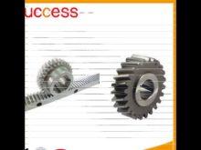 Shanghai Machinery High Precision Small Steel Rack Gear With Gear Rack