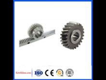 Shanghai Machinery Tractor Different Gear Wheel Crown Pinion Gears Ring / Mini Differential Gear 1