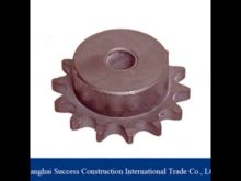 Shanghai Machinery Used Rack And Pinion / Crown Pinion Gears Ring For Concrete Mixer Gear Ring