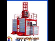 Single Cage Construction Hoist SC100