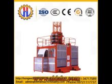 Single Cage Fast Speed Hoist for High Building/Bridge/Chimney
