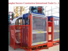 Single Cage or Double Cage Construction Machine SC