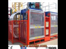 Single Cage or Double Cage Hoist SC320/320TD