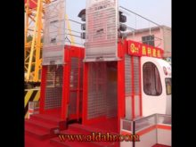 Single Cage Safety Sc Electric Construction Elevator for Sale