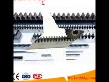 Sliding Gate Opener Steel Or NylonC45 Steel  Tooth Gear Rack