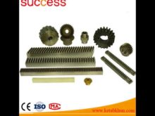 Small Diameter Hobbing Gear Widely Used For Machine
