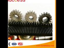 Small Spur Rack And Pinion Gears