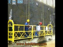 Special Rope Suspended Platform With Wheel