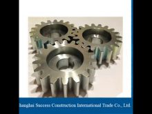 Spikes Stainless Steel Ring/Pinion Gears Ring For Concrete Mixer & Planetary Gear Set