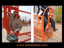 Spray Lacquer Suspended Access Equipment