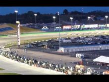 Start of Kentucky 300 Nationwide Race