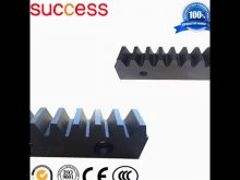 Steel Material And Hobbing Process Blackening Gear Rack