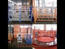 Suspended Aerial Work Platform For Pillar Building