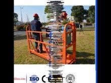 Suspended Construction Working Platform