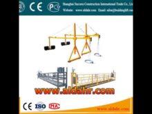 Suspended Platform/ Cradle/ Gondola/ Scaffold Widow Cleaning Platform