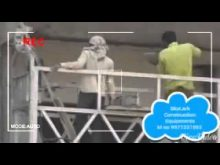 suspended platform  for plastering Skylark Construction Equipments