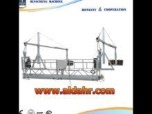 Suspended platform/ high rise construction lift