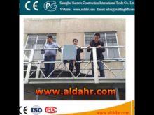suspended platform hs code