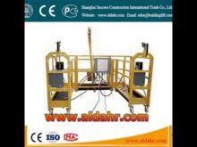 suspended platform manual