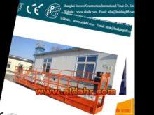 suspended platform on rent