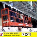 Suspended platform Parts,Rope suspended platform,electrical scaffolding,window cleaning gondola,