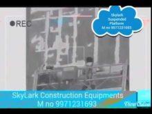 Suspended Platform – Skylark Construction Equipments