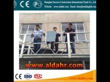 Suspended platform/ suspended scaffolding